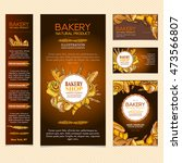 bakery products bakery... | Shutterstock .eps vector #473566807