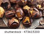 Roasted Chestnut Rustic Food O...