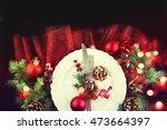 Table Setting With Christmas...