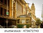 Running Tram  Melbourne