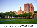 Downtown New Haven Skyline At...