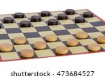 checkers board game | Shutterstock . vector #473684527