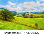 Beautiful Pasture And Barn On...
