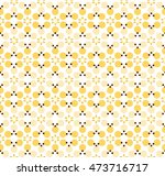 abstract repeating yellow and... | Shutterstock .eps vector #473716717