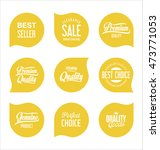 sale stickers and tags... | Shutterstock .eps vector #473771053