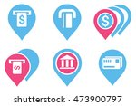 banking atm pointers vector...