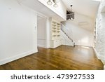 empty house interior. spacious... | Shutterstock . vector #473927533