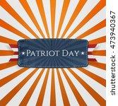 Patriot Day Badge And Ribbon O...