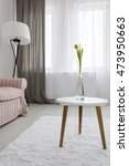 light and spacious room with... | Shutterstock . vector #473950663