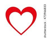 heart love romance passion... | Shutterstock .eps vector #473966833