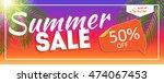summer sale end of season... | Shutterstock .eps vector #474067453