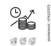 web line icon. business idea ... | Shutterstock .eps vector #474127573