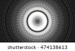 Abstract Kaleidoscope With Som...
