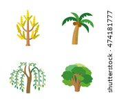 Trees Vector Icons