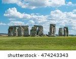 stonehenge  england. united... | Shutterstock . vector #474243343