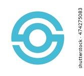 o initial logo | Shutterstock .eps vector #474275083