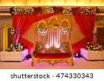 indian wedding decoration | Shutterstock . vector #474330343