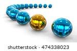 3d render image representing... | Shutterstock . vector #474338023