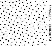 polka dot vector monochrome...   Shutterstock .eps vector #474400273