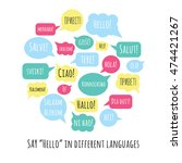 speech bubbles with phrase ... | Shutterstock .eps vector #474421267