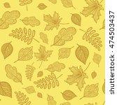 vector seamless texture... | Shutterstock .eps vector #474503437