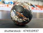 handball ball closeup | Shutterstock . vector #474510937