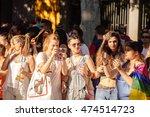madrid  spain   july 6  2016 ... | Shutterstock . vector #474514723