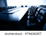 conference table and chairs in... | Shutterstock . vector #474636307