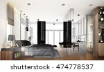 abstract sketch design of... | Shutterstock . vector #474778537