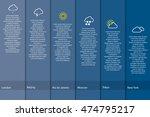 vector infographics with... | Shutterstock .eps vector #474795217