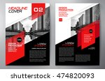 Business brochure flyer design a4 template. Vector illustration   Shutterstock vector #474820093