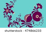 decorative ornamental... | Shutterstock .eps vector #474866233