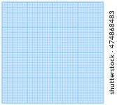 graph paper for geometric... | Shutterstock .eps vector #474868483