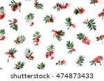 creative arrangement made of... | Shutterstock . vector #474873433