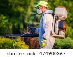 garden pest control services.... | Shutterstock . vector #474900367