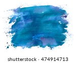abstract watercolor spot with... | Shutterstock . vector #474914713