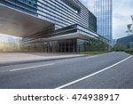 empty road in shanghai town... | Shutterstock . vector #474938917