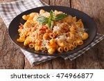 Gomiti Pasta With Tomatoes ...