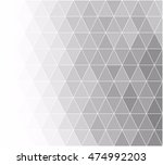 gray white grid mosaic... | Shutterstock .eps vector #474992203