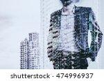digital business revolution... | Shutterstock . vector #474996937