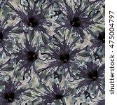 seamless background. flowers.... | Shutterstock . vector #475004797