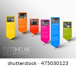 vector colorful infographic... | Shutterstock .eps vector #475030123