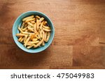 fries french herb still life... | Shutterstock . vector #475049983