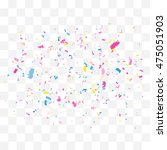 abstract background with many... | Shutterstock .eps vector #475051903