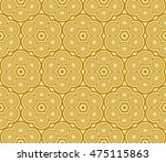 geometric pattern of circles... | Shutterstock .eps vector #475115863