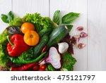heap of fresh organic... | Shutterstock . vector #475121797