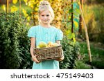 Girl 6 Years Old Holding A...