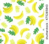 vector seamless pattern of... | Shutterstock .eps vector #475285843