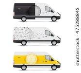 set of templates for transport. ... | Shutterstock .eps vector #475288843
