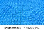 swimming pool. blue water with... | Shutterstock . vector #475289443